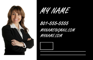 Business card - horizontal